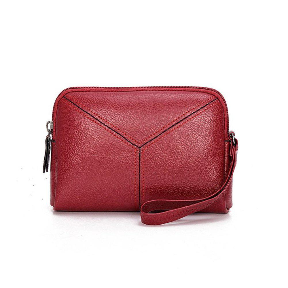 Fashion Women Wristlets bag matual function small Bag  Wrist Dumpling Envelope Bag