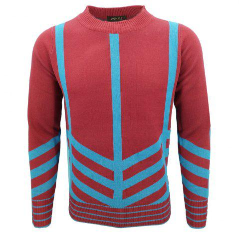 Online Mens Fashion Casual Knit Pullover All-Match Young Men