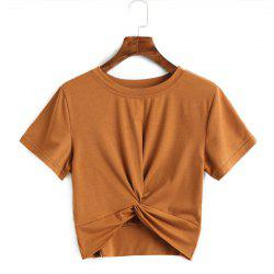 Spring and Summer New Round Neck Short Sleeved T-Shirt -