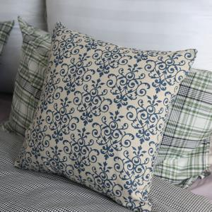 Sofa Pillowcase Chinese Style Classic Flower Pattern Supple Cushion Cover -