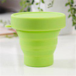 Drinking Glass Creative Portable Foldable Travel Tumbler Gargle Cup -