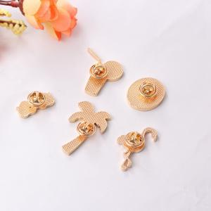 5 Pcs Women's Brooch Sweet Style Color Block Faddish Elegant Accessory -