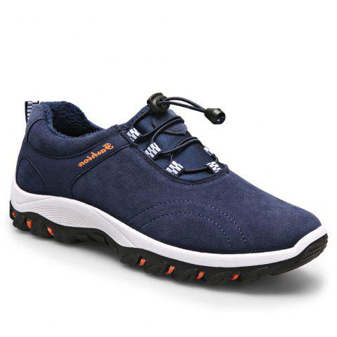 Store Men Casual Outdoor PU Leather Thick Sole Climbing Shoes