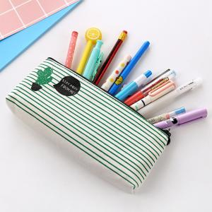 Travel Makeup Cosmetic Cactus Case Wash Organizer Storage Cartoon Pencil Case -