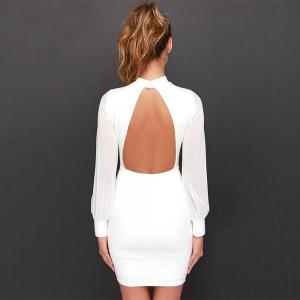 Сексуальное Backless Slip Summer Dress -