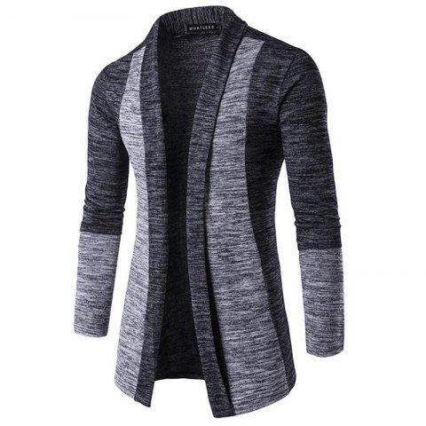 Latest Men's Sweater Cardigan Long Sleeve Fit Casual Knit Cardigan Coat