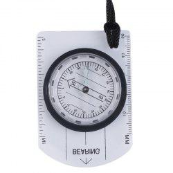 Mini Baseplate Compass Map Scale Ruler for Outdoor Camping Hiking -