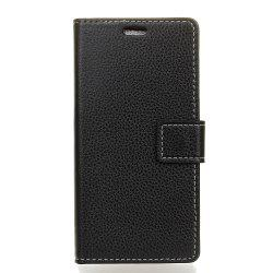 Cover Case For BQ Aquaris V Plus Litchi Pattern PU Leather Wallet Case -