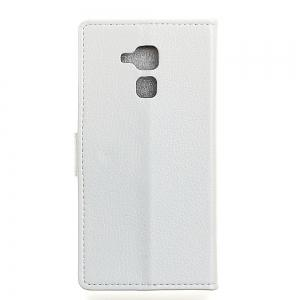 Cover Case For BQ Aquaris V Litchi Pattern PU Leather Wallet Case -