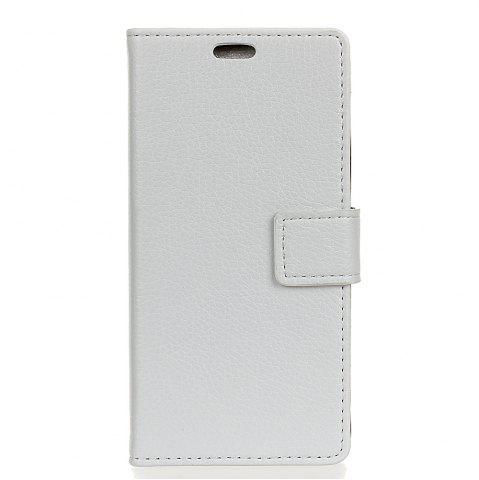Best Cover Case For BQ Aquaris V Litchi Pattern PU Leather Wallet Case
