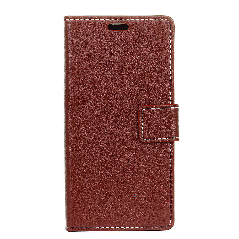 Outfits Cover Case For BQ Aquaris V Litchi Pattern PU Leather Wallet Case
