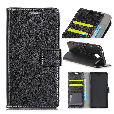 Fancy Cover Case For Alcatel A50 Litchi Pattern PU Leather Wallet Case