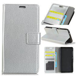 Cover Case For Alcatel A50 Litchi Pattern PU Leather Wallet Case -