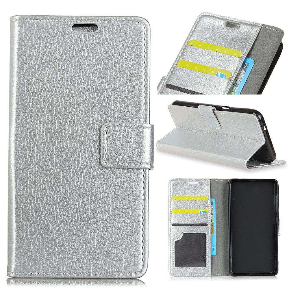 Cheap Cover Case For Alcatel A50 Litchi Pattern PU Leather Wallet Case