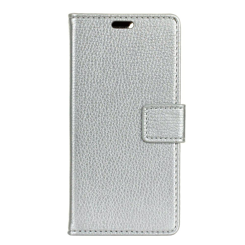 Trendy Cover Case For Alcatel Flash Plus 2 Litchi Pattern PU Leather Wallet Case