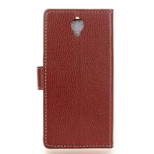 Cover Case For Alcatel OneTouch Idol X Plus Litchi Pattern PU Leather Wallet Case -