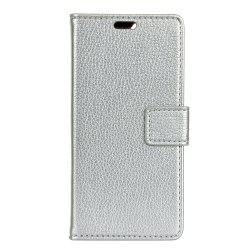 Cover Case For Alcatel OneTouch Idol 5 Litchi Pattern PU Leather Wallet Case -