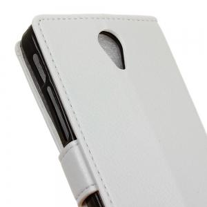 Cover Case For  Alcatel One Touch Allura Litchi Pattern PU Leather Wallet Case -