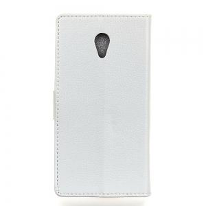 Cover Case For Alcatel U5 Litchi Pattern PU Leather Wallet Case -
