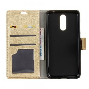 Cover Case For Doogee BL5000 Litchi Pattern PU Leather Wallet Case -