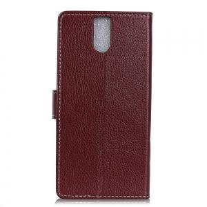 Cover Case For Doogee BL7000 Litchi Pattern PU Leather Wallet Case -