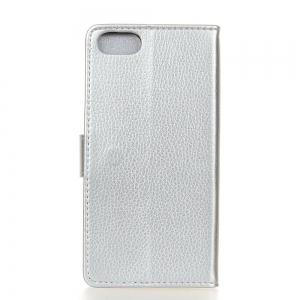 Cover Case For Doogee Shoot 2 Litchi Pattern PU Leather Wallet Case -