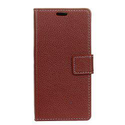 Cover Case For Doogee X9 Pro Litchi Pattern PU Leather Wallet Case -