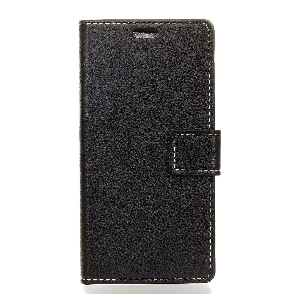 Online Cover Case For Doogee X9 Pro Litchi Pattern PU Leather Wallet Case