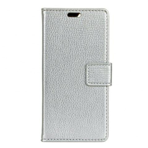 Cover Case For Doogee Y6 Litchi Pattern PU Leather Wallet Case
