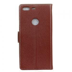 Cover Case For Google Pixel XL Litchi Pattern PU Leather Wallet Case -