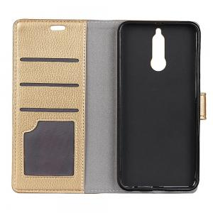 Cover Case For Huawei Mate 10 Lite Litchi Pattern PU Leather Wallet Case -