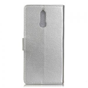 Cover Case For Huawei Honor 9i Litchi Pattern PU Leather Wallet Case -