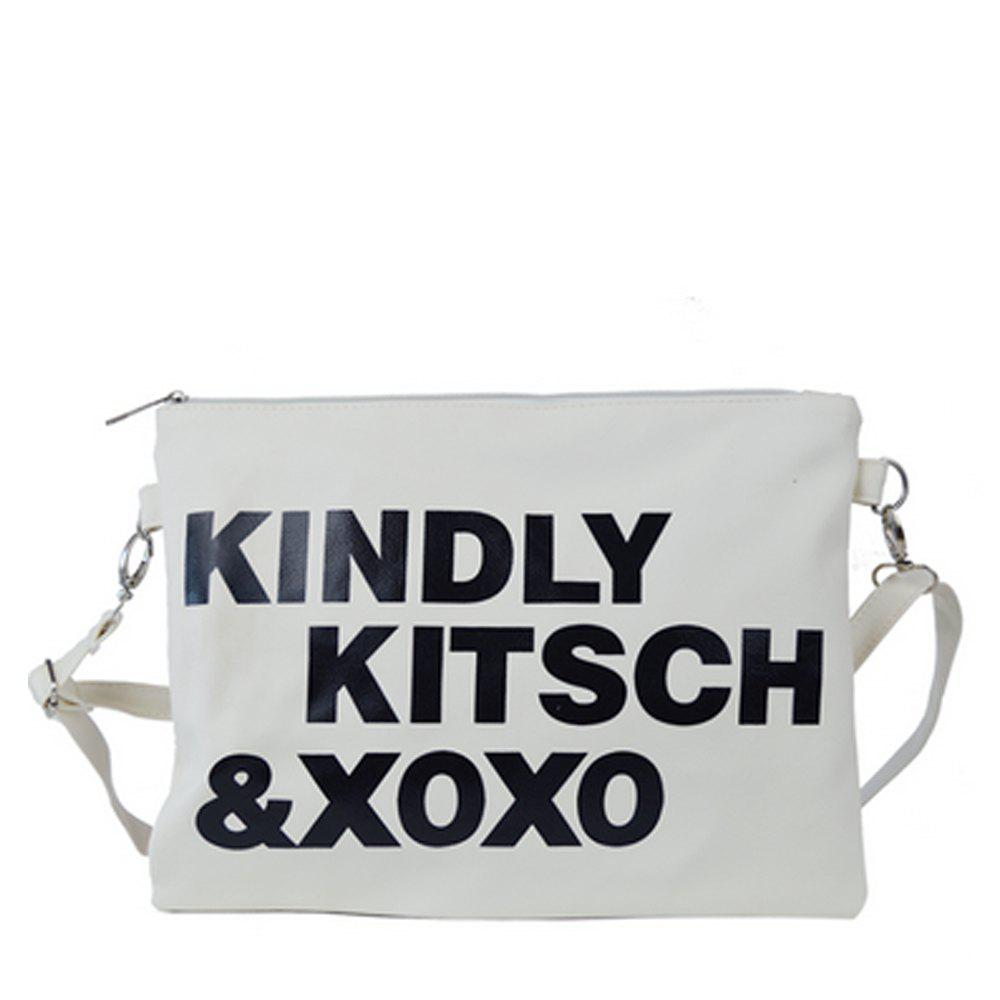 New Women's Crossbody Bag Chic Letters Themed Unisex Bag