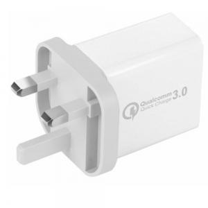 30W 3 Port Fast Quick Charge QC 3.0 USB  Wall Charger Adapter -
