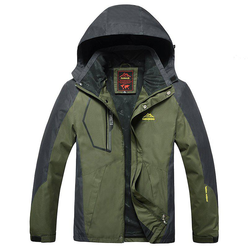 Unique Slim Fashion Men Warm Outdoor Jacket