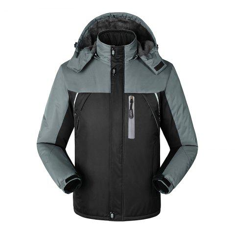 New Slim Fashion Windproof Warm Outdoor Jacket