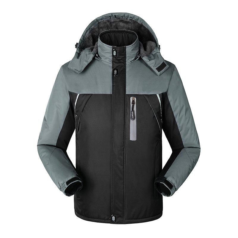Latest Slim Fashion Windproof Warm Outdoor Jacket
