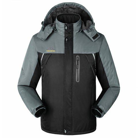 Fashion Slim Fashion Wind Men Warm Outdoor Jacket