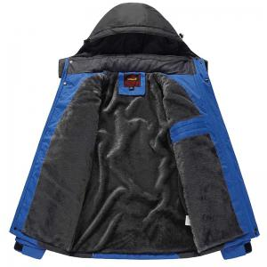 Slim Fashion Waterproof Windproof Men Warm Outdoor Jackets -