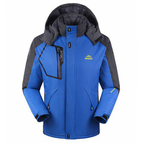Outfits Slim Fashion Waterproof Windproof Men Warm Outdoor Jackets