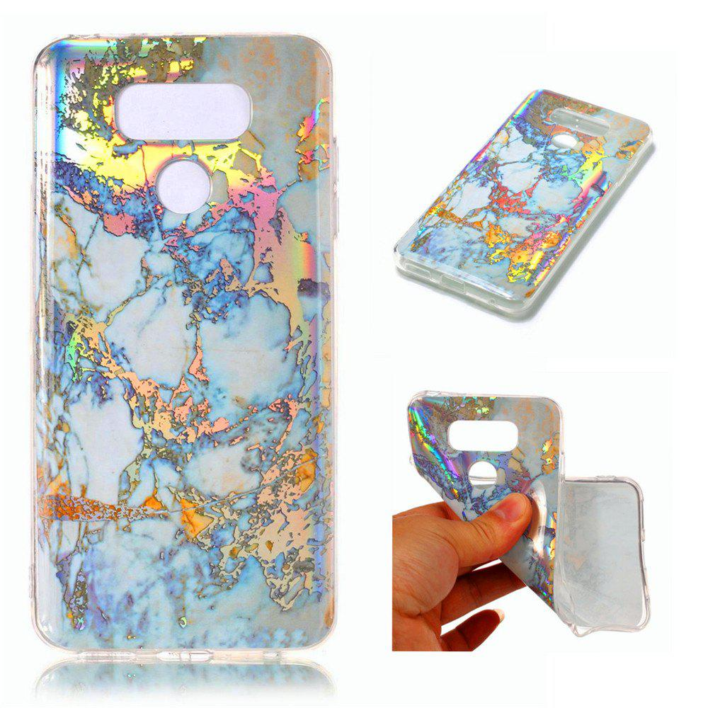 Fashion Fashion Color Plated Marble Phone Case For LG G6 Case Cover 5.7 Inch Soft TPU Full 360 Protection Case Phone Bag