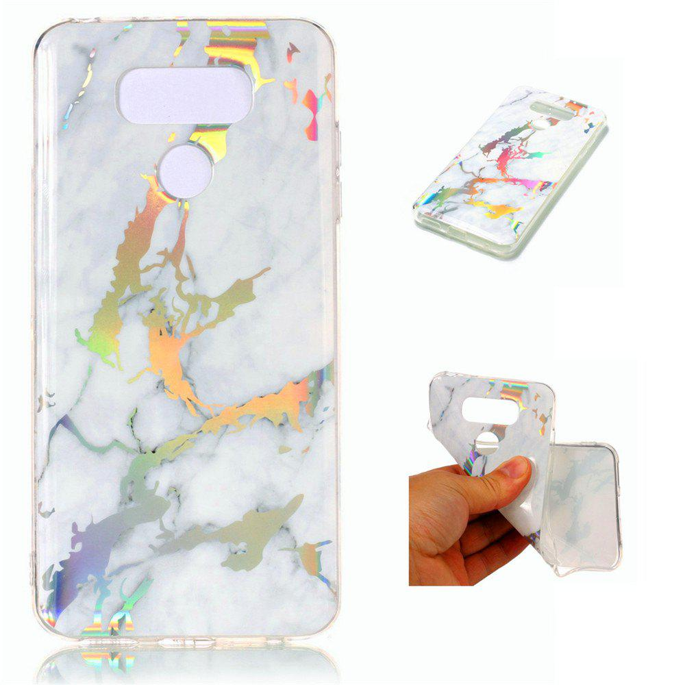 Fancy Fashion Color Plated Marble Phone Case For LG G6 Case Cover 5.7 Inch Soft TPU Full 360 Protection Case Phone Bag