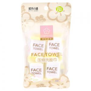 City Shop NCS146 Compressed Face Towel 8PCS -
