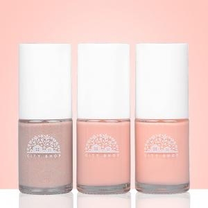 City Shop CS0501 Pink Nail Polish Set -