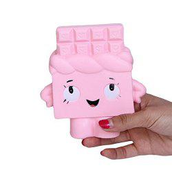 Slow Rising Jumbo Kawaii Squishy Chocolate Toy for Kids Stress Relief -