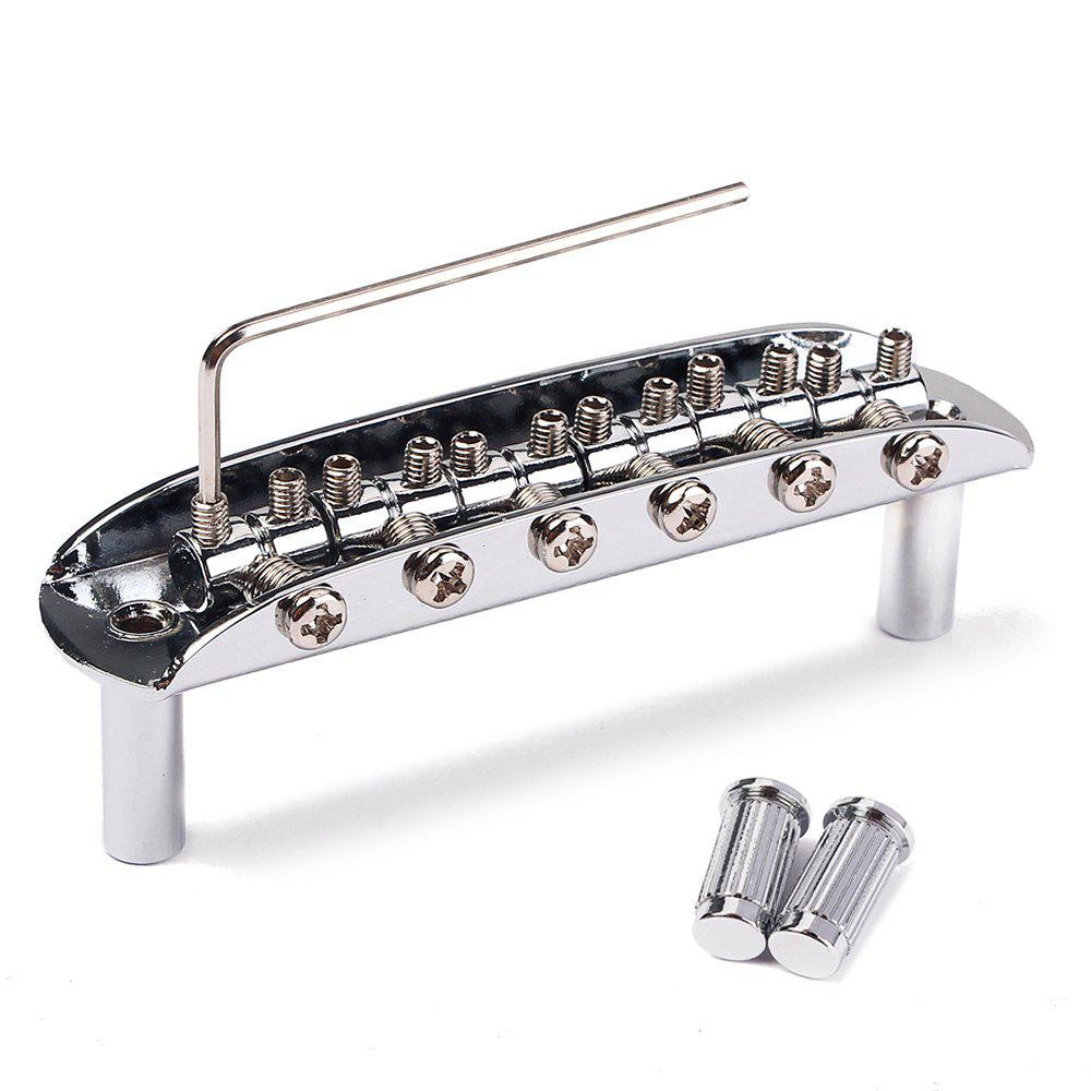 Latest Electric Guitar Tremolo 6 String Bridge Assembly with Wrench