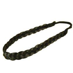 Vintage Wig Braided Hair Band Headband -