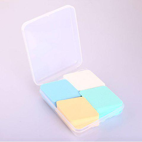 Discount Boxed Rhombus Sponge Puff 4PCS