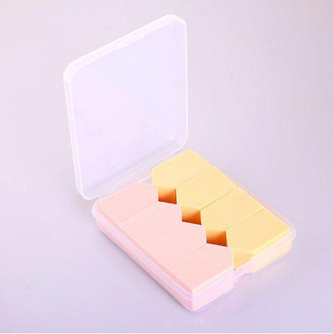 Emballage Polygonal Maquillage Éponge Puff 8PCS