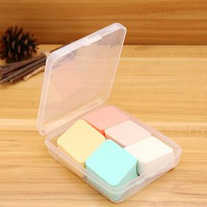 Boxed Rhombus Maquillage Éponge Puff 5 PCS -